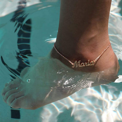 Encoreusa Gold The Encore Anklet