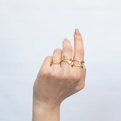 Encoreusa 6 / Gold My One & Only Ring