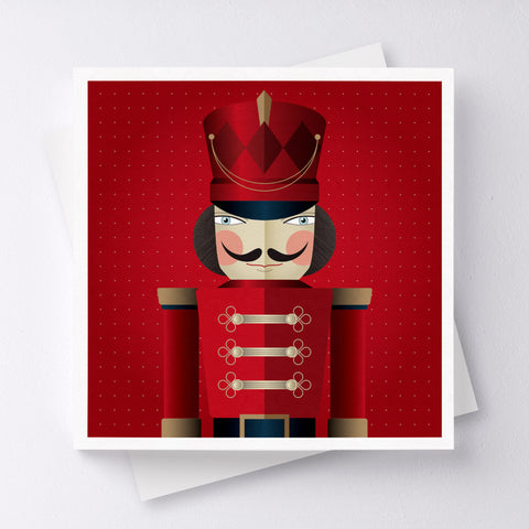 Attention! Soldier Greeting Card