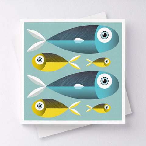 Better Together Fish Greeting Card