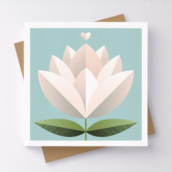 Blossom Flower Mini Greeting Card