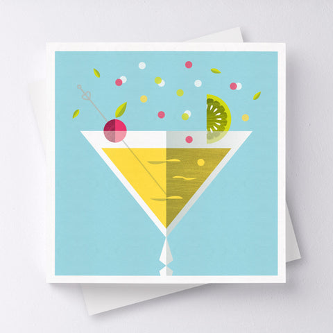 Chin Chin Cocktail Greeting Card