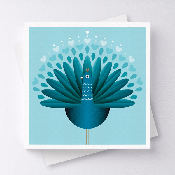 Feathered Friend Bird Greeting Card