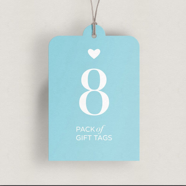Gift tag eight pack