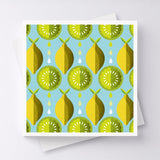 Lemon n Lime Greeting Card