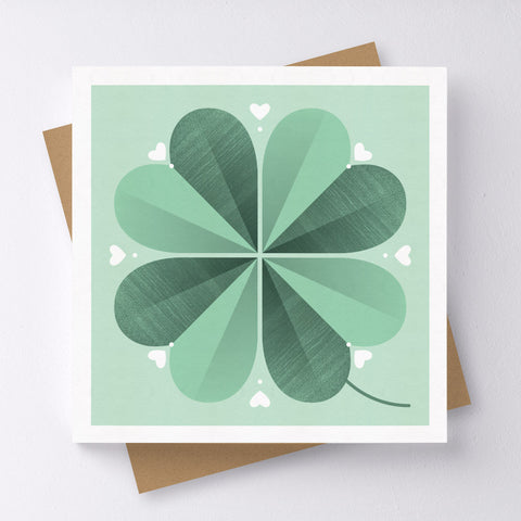Lucky Flower Mini Greeting Card