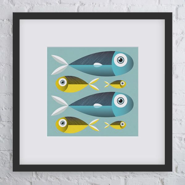 Better Together Fish Art Print