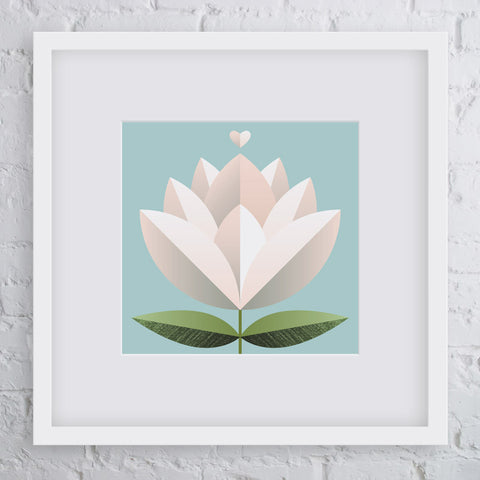 Blossom Flower Art Print