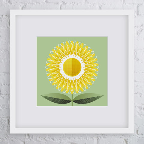 Bright Side Flower Art Print