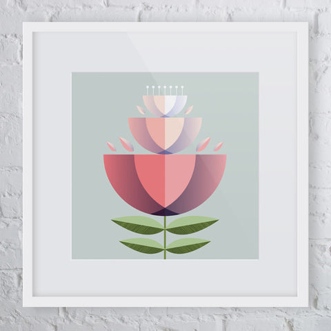 Hello Buttercup Flower Art Print