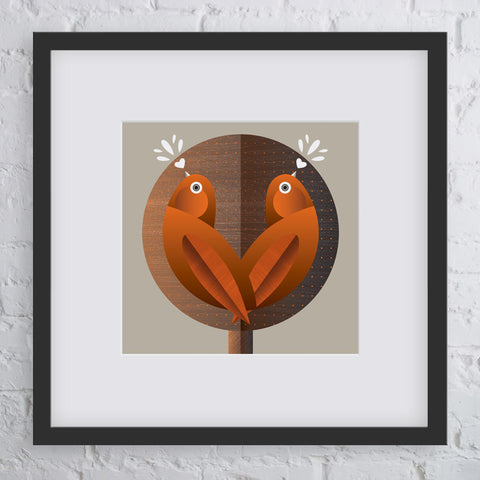 Song Birds Art Print