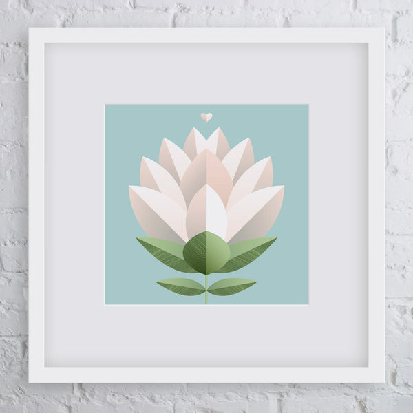 Bloom Flower Art Print