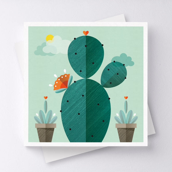 Survivor Cactus Greeting Card