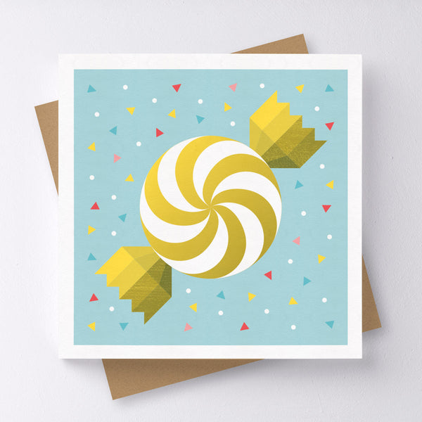 Sweet Surprise Candy Mini Greeting Card