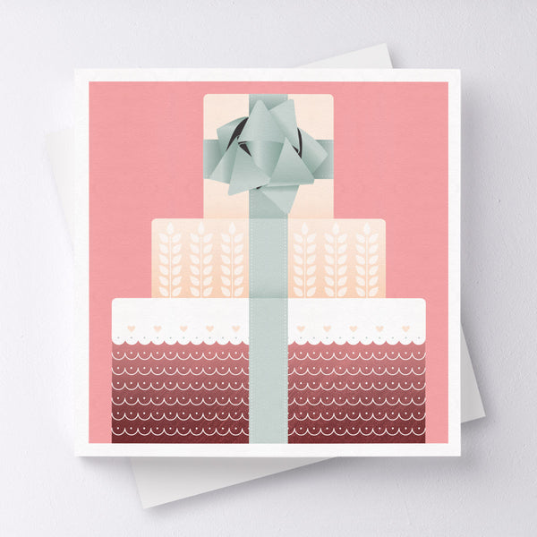 The Sweet Life Cake Greeting Card
