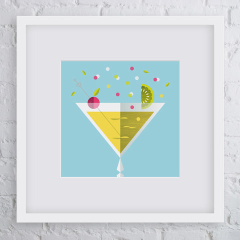 Chin-Chin Cocktail Art Print