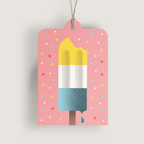 Irresistible Ice Cream Gift Tag