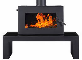 Blaze B605 freestanding (coffee table) wood heater