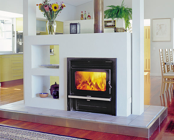 Kemlan Coupe double sided wood heater