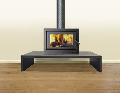Kemlan See Through Cube freestanding wood heater