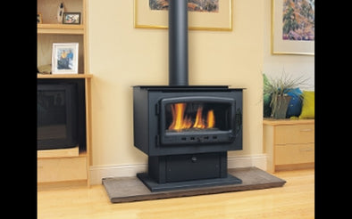 Nectre Freestanding Gas Log Fire