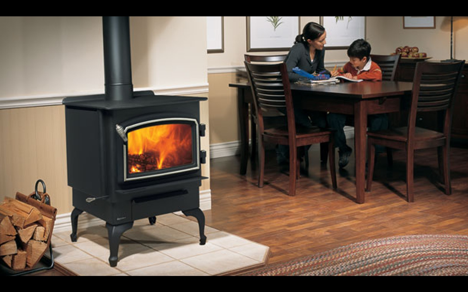 Regency Vancouver Freestanding Wood Heater Hallamheating