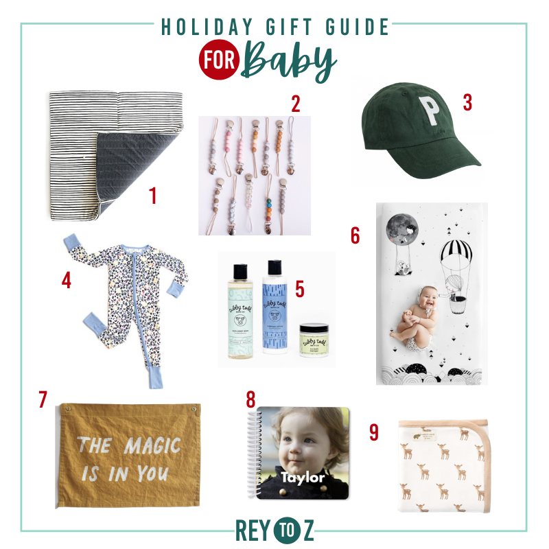 Rey to Z Baby Gift Guide