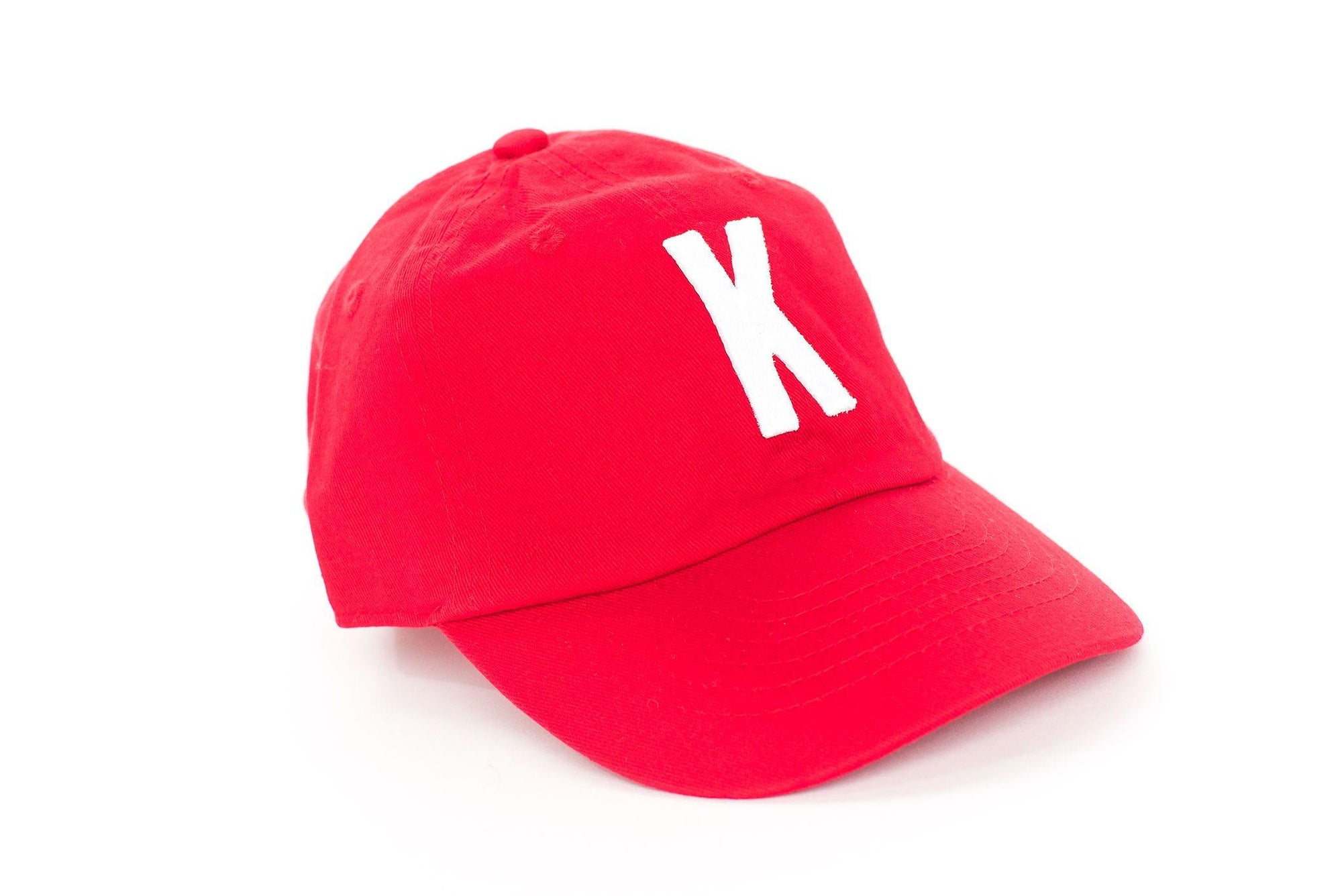 Red Baseball Hats K