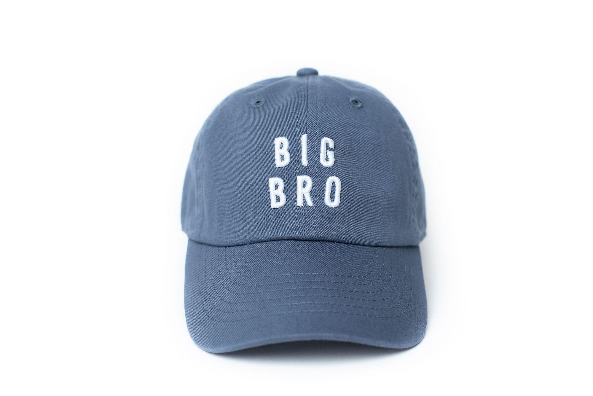 Dusty Blue Big Bro Baseball Hats