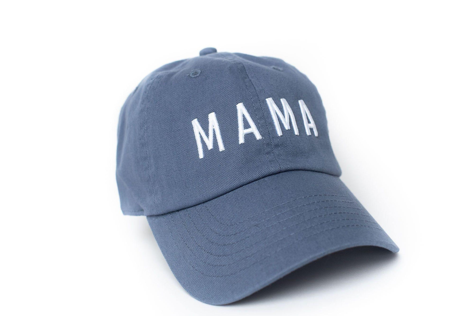 Dusty Blue Mama Hat