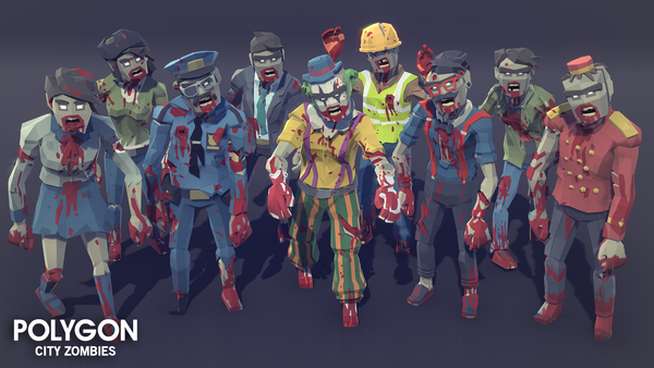 POLYGON - City Zombies Pack