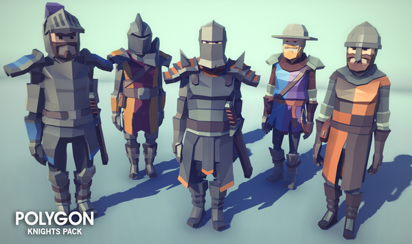 POLYGON - Knights Pack - synty-store