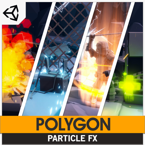 POLYGON - Particle FX Pack (Unity Only)