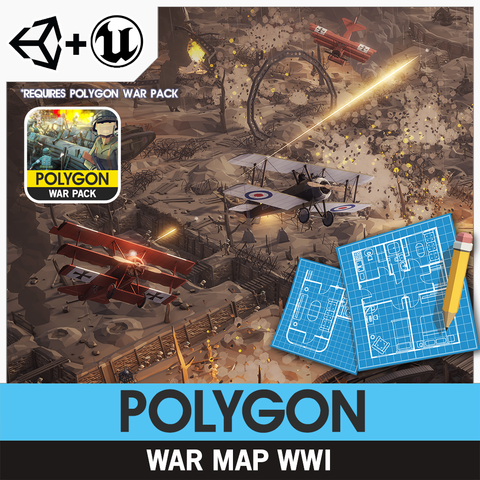 POLYGON - War Map - WWI
