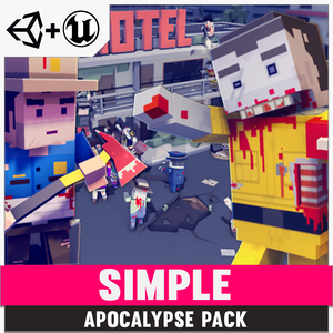 Simple Apocalypse - Cartoon Assets - synty-store