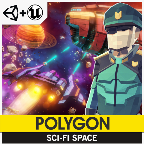 POLYGON - Sci-Fi Space Pack - synty-store