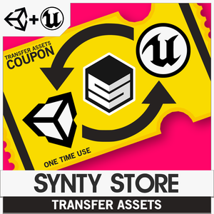 Unity/Unreal - Asset Transfer Coupon - synty-store