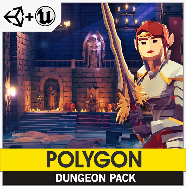 POLYGON - Dungeon Pack - synty-store