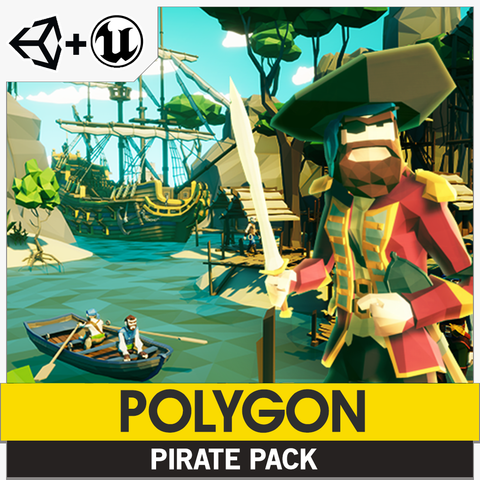 POLYGON - Pirate Pack
