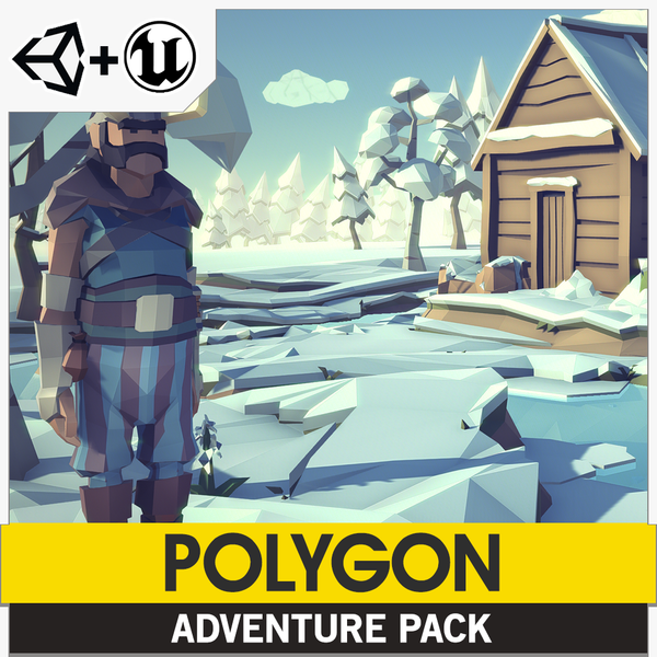 POLYGON - Adventure Pack - synty-store