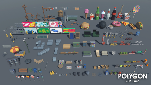 POLYGON - City Pack - synty-store