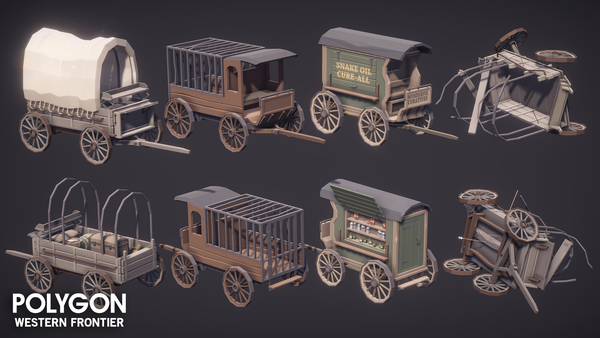 POLYGON - Western Frontier Pack