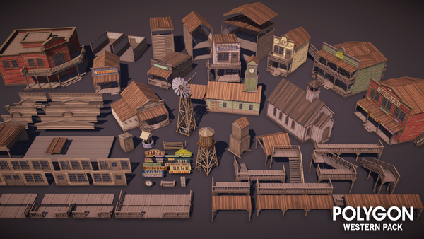 POLYGON - Western Pack - synty-store