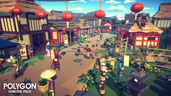 POLYGON - Samurai Pack - synty-store