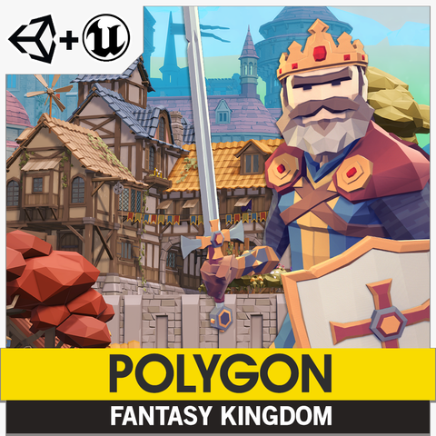 POLYGON - Fantasy Kingdom Pack
