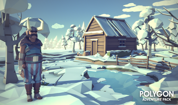 POLYGON - Adventure Pack - Synty Studios - Unity and Unreal 3D low poly assets for game development