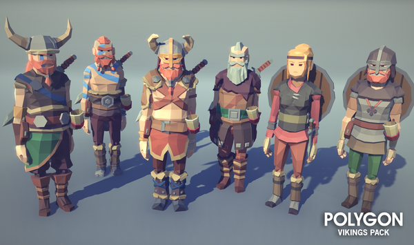 POLYGON - Vikings Pack