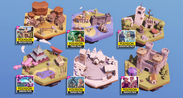 POLYGON MINI - Fantasy Pack