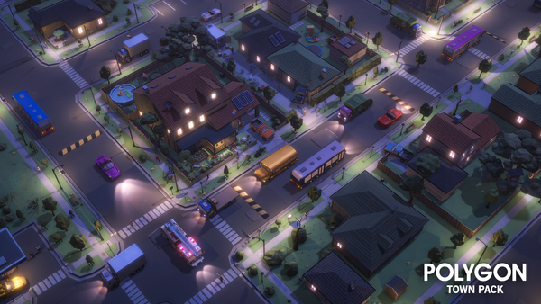 POLYGON - Town Pack - synty-store