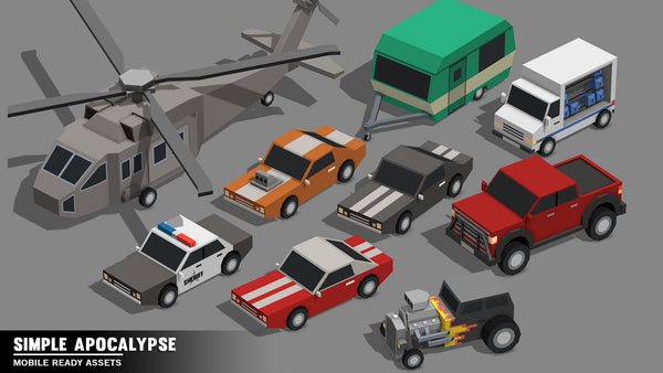 Simple Apocalypse - Cartoon Assets